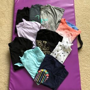 Bundle - 10 Girls tops